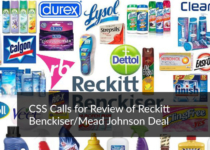 CSS Calls for Review of Reckitt Benckiser/Mead Johnson Deal