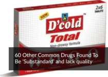 60 Other Common Drugs Found To Be 'Substandard' and lack quality