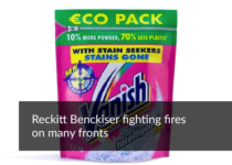 Reckitt Benckiser fighting fires on many fronts