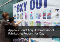 Appeals court acquits professor of fabricating reports for Oxy