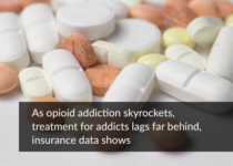 As opioid addiction skyrockets, treatment for addicts lags far behind, insurance data shows